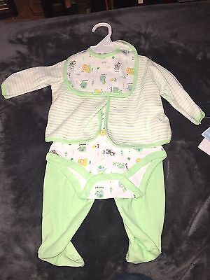 Baby works Layette 4 Price Baby Boy Outfit Size 3-6 Months New