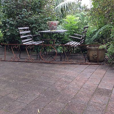 Vintage Wrought Iron Fencing