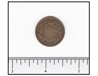1865 Two Cent Piece (US)