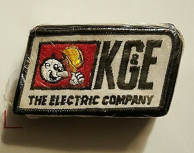 Vintage Reddy Kilowatt K G & E The Electric Company Patch NOS