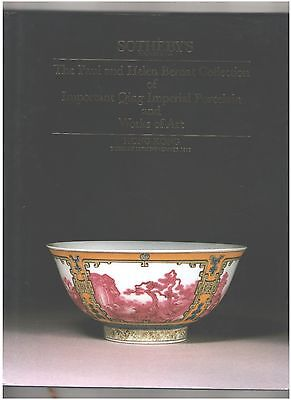 Sotheby's Chinese Ceramics Catalog, Hardcover, Paul and Helen Bernat Collection