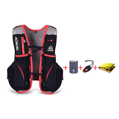 Docooler 5L Outdoor Sport Running Vest Backpack with 1.5L Hydration Pack S/M