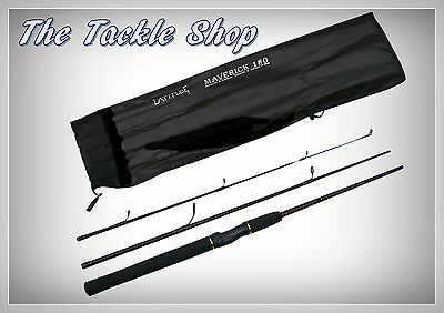 TRAVEL ROD LATITUDE MAVERICK 180 6ft 8kg E-CARBON 3 SECTION FISHING ROD RRP $99