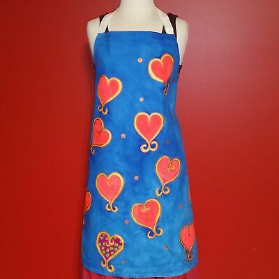 Fairtrade Apron - Hand Painted, With All My Love!
