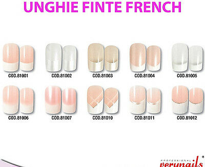 Latest Technology Artificial Nail Tips Tips Unghie Finte Nail Art Vari Modelli E Colori Offertissima Fine Serie Nail Care, Manicure & Pedicure