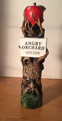 """Angry Orchard Crisp Apple Cider,11"""" Beer Tap Handle from Bugaboo Creek Bangor,ME"""