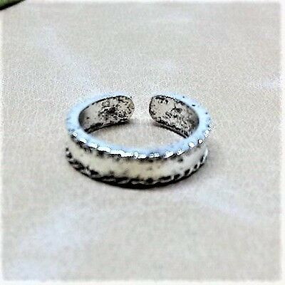 NEW Toe Ring Band Adjustable Silver Foot Jewelry Beach Women Fashion Vintage