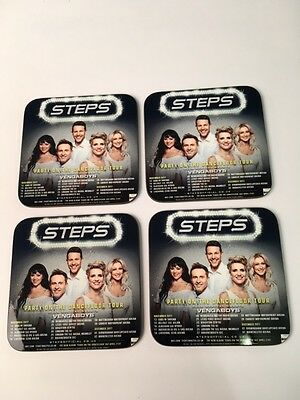 Steps Party On The Dancefloor Tour Advertising COASTER Set