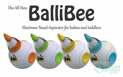 Dr Bee Ballibee Electronic Nasal Aspirator for Babies & Toddlers