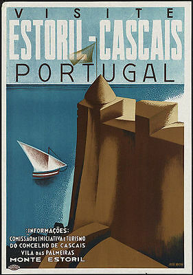 Visite Portugal  Large Metal Tin Sign Poster Wall Plaque