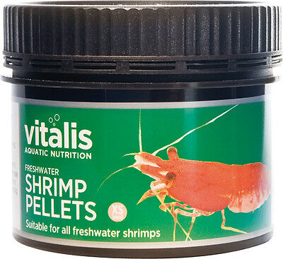 Vitalis New Era Freshwater Shrimp Pellets 60g Food for Cherry Crystal Shrimp