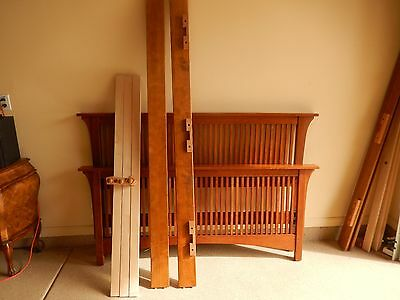 Stickley Mission Collection Cherry Queen Size Spindle Bed - Used