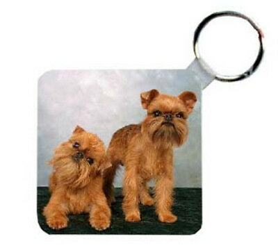 Brussels  Griffon    Personalized  Breed  Key   Chain
