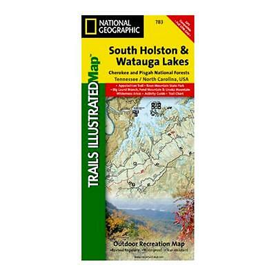National Geographic 603125 783 South Holston and Watauga Lakes Tennessee