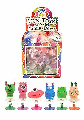 3,6,12 Monster Jump Spring Jumping Kids Party Birthday Loot Bag Stocking Fillers