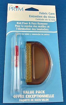 Prym Knit Fixer and Fuzz Remover - Fabric Comb, Knit Picker