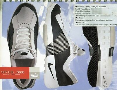 Rare Vintage Nike Spring 2000 Dealer Vendor Footwear Sales Order Catalog