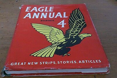 Eagle Annual No 4, With Dustwrapper