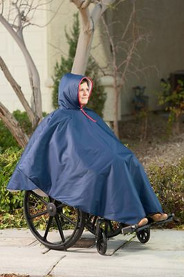 CareActive Wheelchair Rain Poncho - Multiple Colors! Brand new!