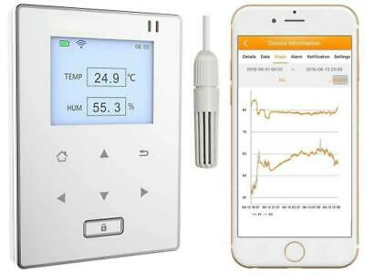 Temperature and Humidity Data Logger Wirelesss Remote Monitor with Alerts