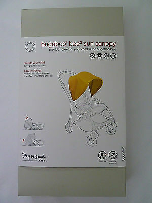 Bugaboo Bee 3 Sun Canopy Bright Yellow Stroller Is Not Included