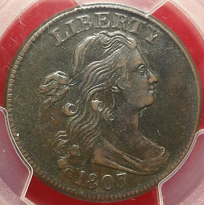 PCGS VF35 1803 Draped Bust Large Cent S-258 1c Variety