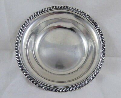 Graff Washbourne & Dunn Sterling Silver Candy Nut Bowl 99.1 grams