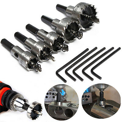 5Pcs 16-30Mm Hole Saw Cutter Drill Bit Set Hss Hole Saw Drill