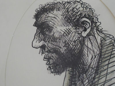 Peter Howson drawing
