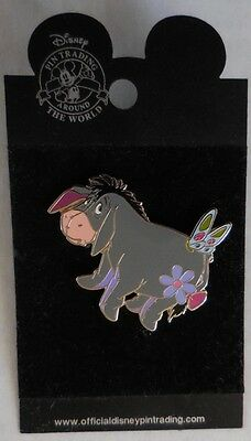 Disney Pin DLR Butterfly Series Eeyore New