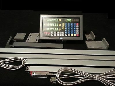 DRO kit for Mill Lathe Grinder EDM  3axis Display 2-scales