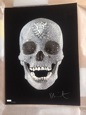 Damien Hirst Signed Limited Edition Print For The Love Of God
