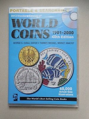 2013 Standard Catalog of World Coins 1901-2000 40th Edition CD