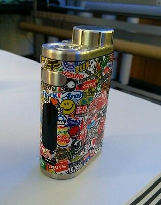Cover Stickerbomb Eleaf iStick Pico Decal Box Mod E-Shisha 75W Schutz hülle