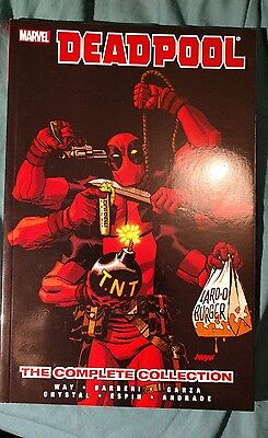 Deadpool: Volume 4: Complete Collection by Daniel Way (Paperback, 2013)