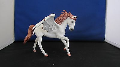 cm/custom Breyer CollectA Andalusian to a OOAK Copper White Pegasus