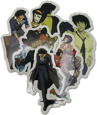 **Legit** Cowboy Bebop Spike Faye Ein and Crews Group Sticker Set #55494