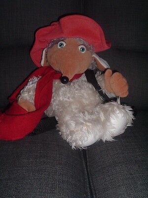 Wombles Large Orinoco Womble Backpack Plush Soft Toy By Character Concepts