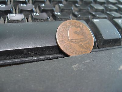 1787 New Jersey Cent! Nice example! (165)