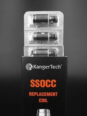 KangerTech SSOCC Clearomizer Heads (5er Packung)