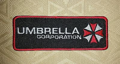Resident Evil Umbrella Corporation Embroidered Patch Toppa Ricamata