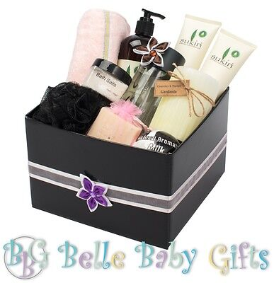 Pamper Beauty & Bath Gift Set for Her! Perfect for Birthdays & Anniversaies