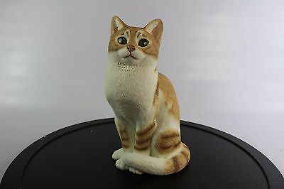 Sherratt And Simpson Ginger Cat/kitten - Hand Painted/crafted.