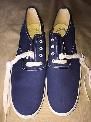 mens New 12 S vintage Keds Champion blue canvas tennis shoes sneakers Korea