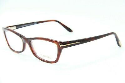 abcbeb17d2 New Tom Ford Tf 5265 052 Havana Eyeglasses Authentic Frames Rx Tf5265 53-16