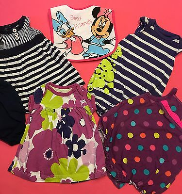 Lot of 6 Items Baby Girl Spring Summer Clothes Size Newborn.