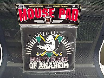 New Anaheim Mighty Ducks Mouse Pad Mats Mousepad 1995 New in package