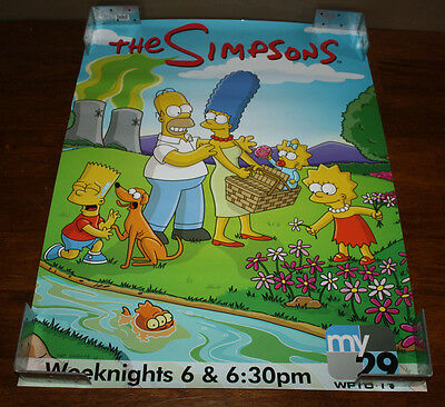 The Simpsons My 29 WFTC Minnesota 24x18 Poster Homer Marge Bart Maggie Lisa
