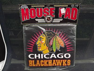 New Chicago Blackhawks Mouse Pad Mats Mousepad 1995 New in package