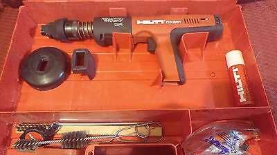 Hilti DX 351 Fully Automatic Powder-Actuated Tool with Case (USED)